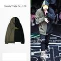 Japan Style Winter Thick Cotton Street Patchwork Hooded Sweatshirt Kanye West Bieber Zico Pullover Mens Hoodie palace hoodies