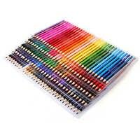 120/160 цветов, деревянные цветные карандаши, набор, Lapis De Cor, художественная живопись, масляные цветные карандаши для школы, рисование, эскиз, ху...