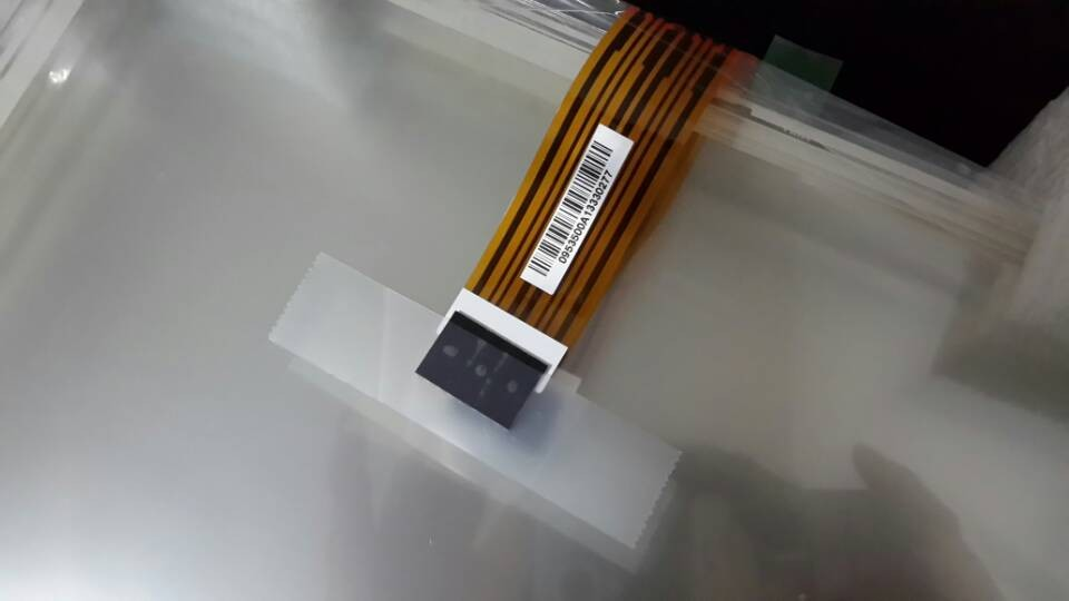 KEBA KEMRO K2 700 Touchpad Touch Screen AMT9535 Eight wire 333 257mm Glass Monitor For machine