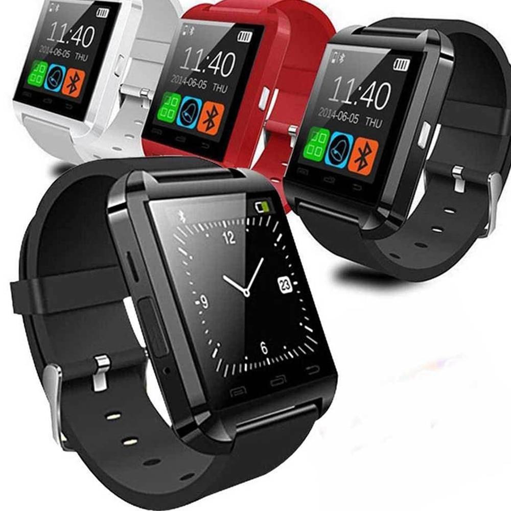 Akıllı Spor Dijital İzle U8 cep Basit Saat Ucuz android dokunmatik - Erkek Saatleri - Fotoğraf 5