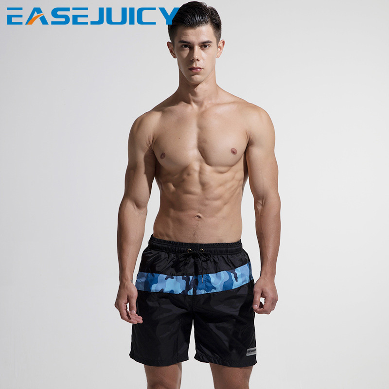 Men's summer beach   shorts   swimming suit swimwear surfing quick dry   board     shorts   hawaiian bermudas liner briefs mesh