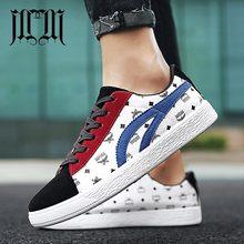 9e58ed794 MumuEli Azul Marinho Preto Branco Vermelho 2019 de Alta Qualidade Homens  Sapatos Casuais Respirável Tênis de Designer de Moda de.