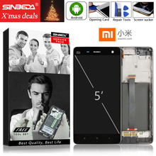 Original 5.0 For XIAOMI Mi 4 LCD Display Touch Screen with Frame Digitizer Assemble Mi4
