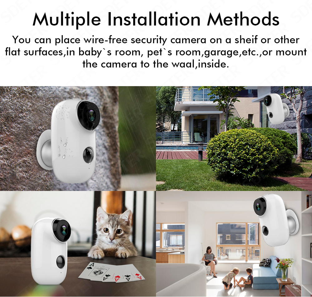 100 Wire Free Battery Ip Camera 720p Rechargeable In Outdoor Ptz Controller Wiring Diagram Get Image About