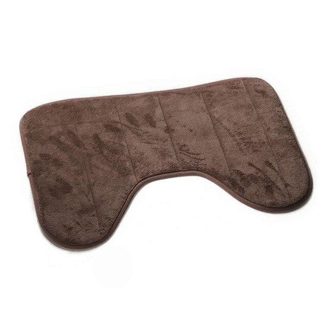Vovotrade Accessori Per il Bagno 40*60 cm A Forma di U Tappetini Da Bagno Antiscivolo Casa Bagno Carpet New