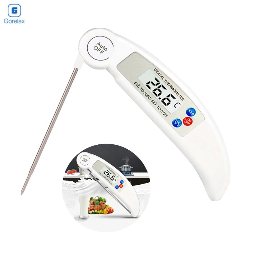 Meat Thermometer Digital BBQ Electronic Cooking Food Probe Water Milk Kitchen Oven Tools