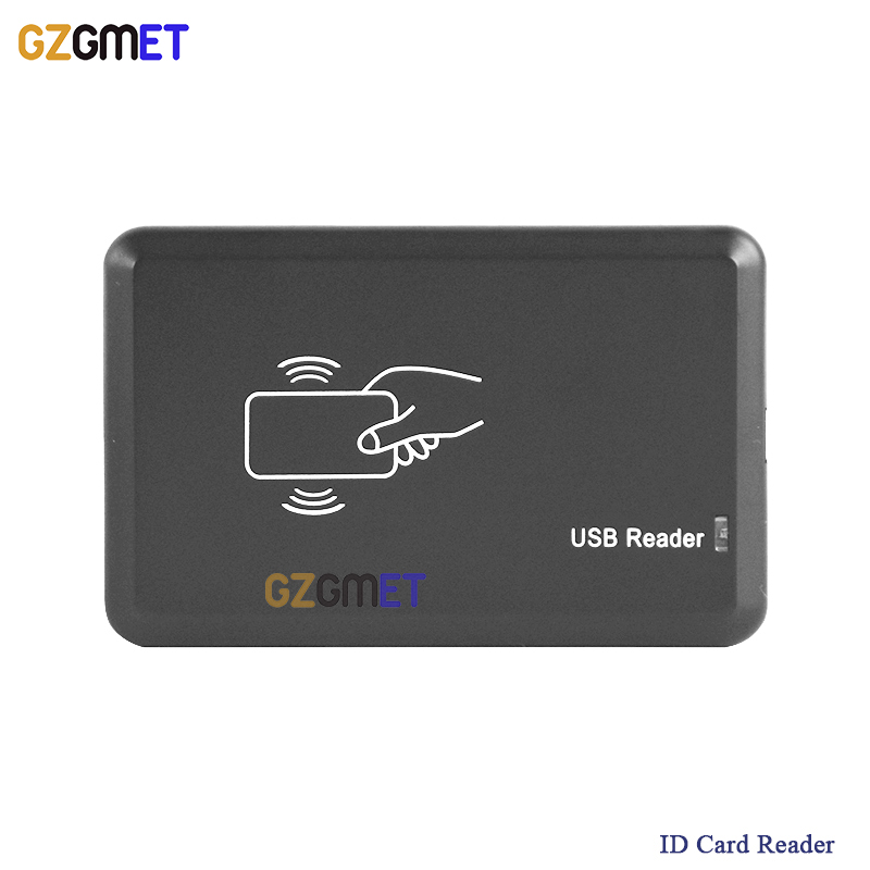USB Port  EM4001 125khz RFID ID Contactless Sensitivity Smart Card Reader Support Window System 125khz rfid id em card reader