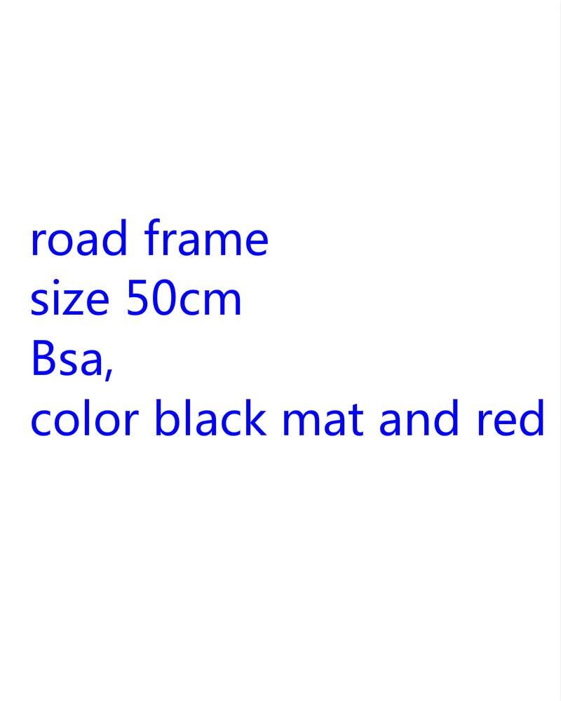 Road Bike racing carbon frame 50cm size  crankset bsa many size and colors 46.5cm 51.5cm 54cm 56cm