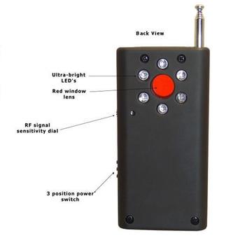Topvico Full Range Anti - Spy Bug Detector CC308 Mini Wireless Camera Hidden Signal GSM Device Finder Privacy Protect Security 3