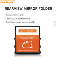 auto folding mirror for fortuner and lihux Car Auto power mirrors closer