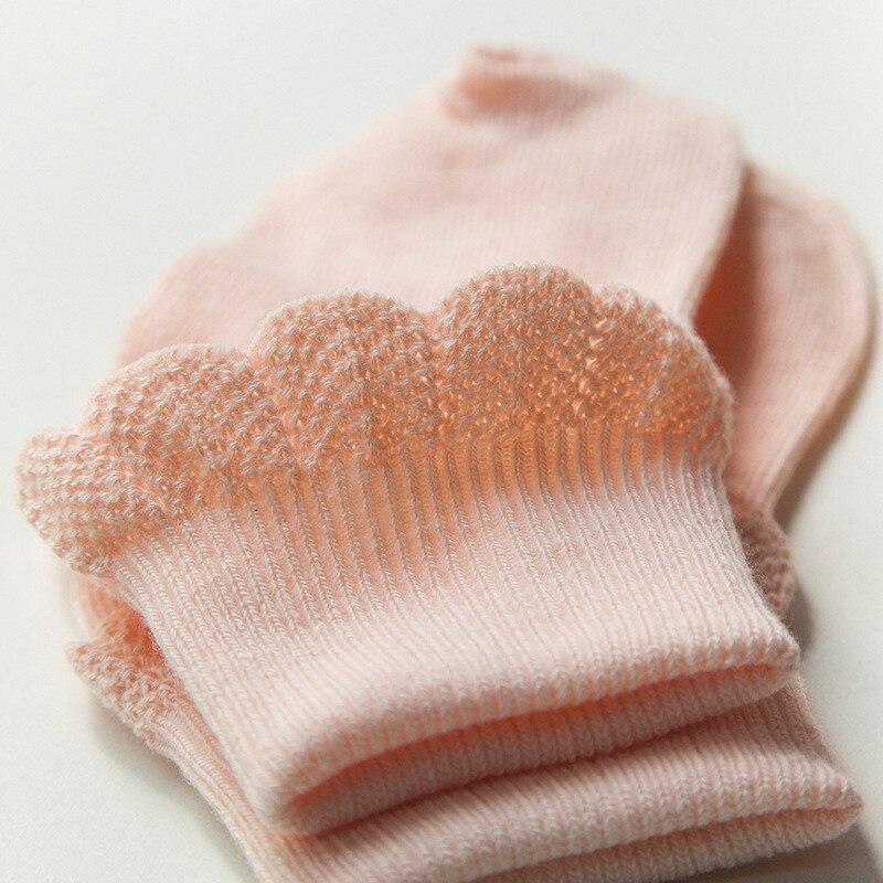 Lawadka 10 Pieces/lot=5Pairs Cotton Kids Socks Fashion Sport Short Socks Baby Girls Socks 3
