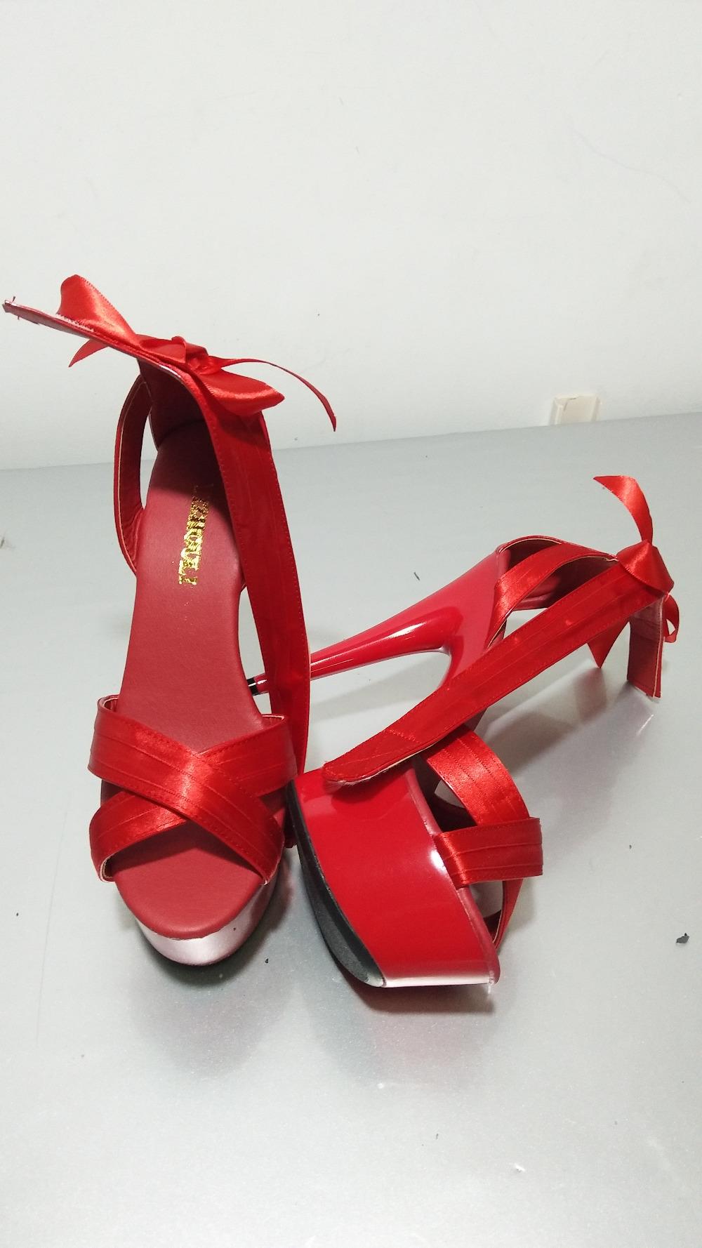 Sandálias de dança perfeita performance encantadora bela passarela ... e6b96affd20a
