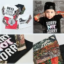 Baby print SORRY SORRY/HIPSTER