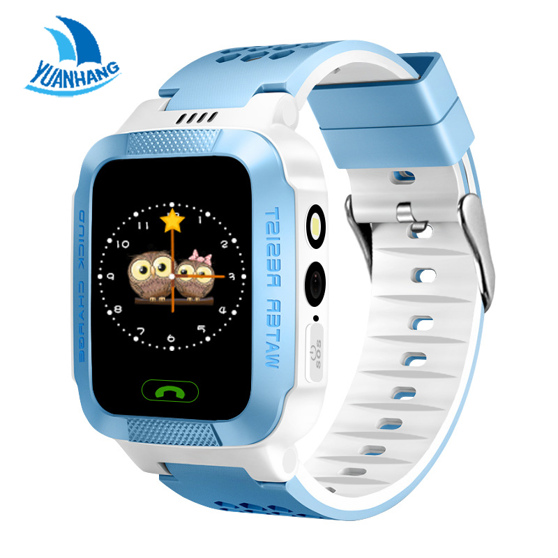 1.44 Touch Screen Smart Real-time Tracker Location SOS Call Remote Camera Monitor Flashlight Watch Wristwatch for Kids child