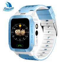 1.44′ Touch Screen Smart Real-time Tracker Location SOS Call Remote Camera Monitor Flashlight Watch Wristwatch for Kids child