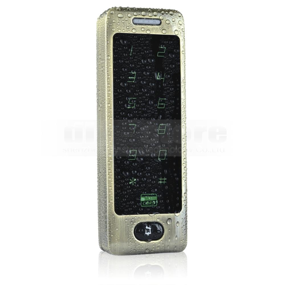 ФОТО DIYSECUR 125KHz Rfid Card Reader Door Access Controller System Password Keypad + Door Bell Button 8000 Users