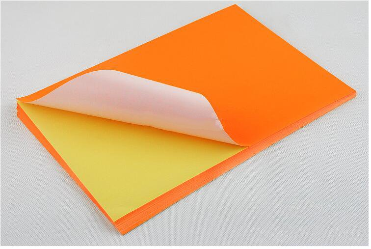 Image 4 - Network Fluorescence Labels Sticker 50 Sheets  A4 Size Matte Self Adhesive Label Sticker Printer Paper for Laser inkjet printing-in Stationery Stickers from Office & School Supplies