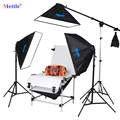 NEW PHOTOGRAPHIC EQUIPMENT photographic accessories 50x70cm Softbox x4and 60x130cm Photography Studio Photo Shooting Table CD50