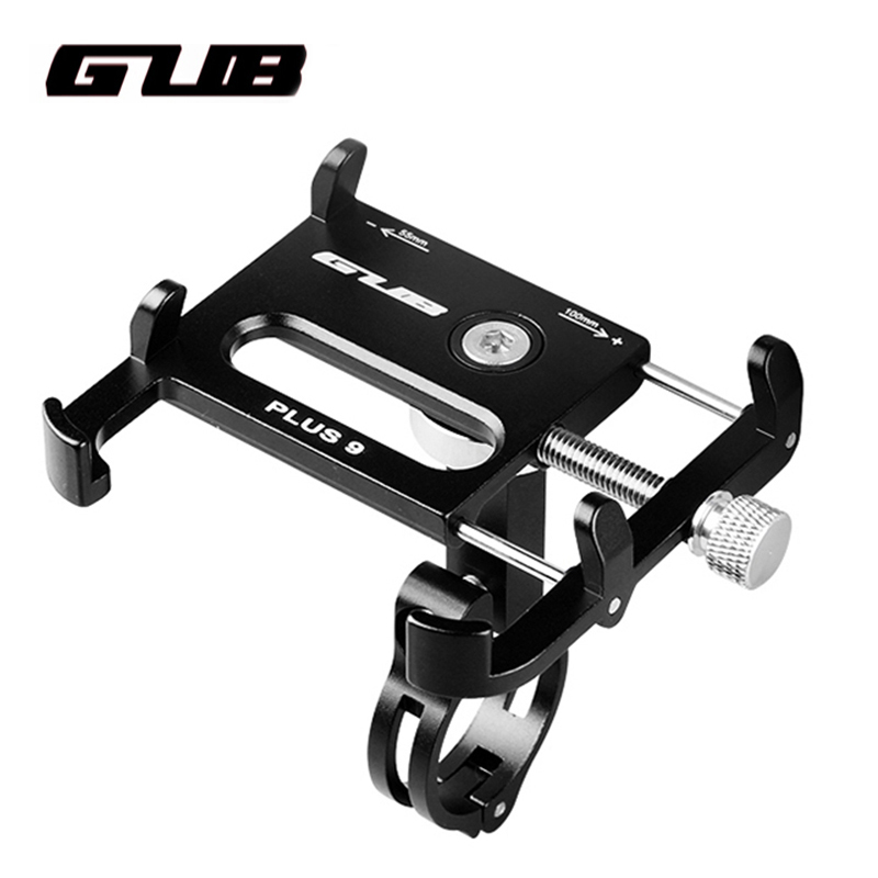 Plus Universal Bike Phone Holder Mount Aluminum Bicycle Motocycle scooter Handlebar Cellphone Stand Bracket For iPhone Samsung купить в Москве 2019