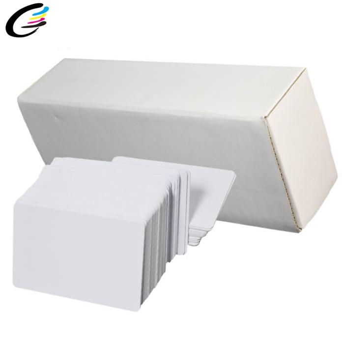 Cheap Price Matt PVC ID Card 230pcs Blank White Card For Inkjet Printing