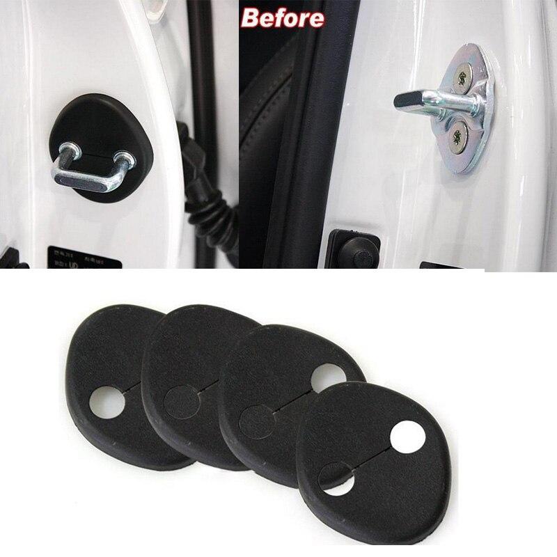 Car Door Lock Protective Cover Fit For Kia K2 Soul RIO SOUL font b Hyundai b