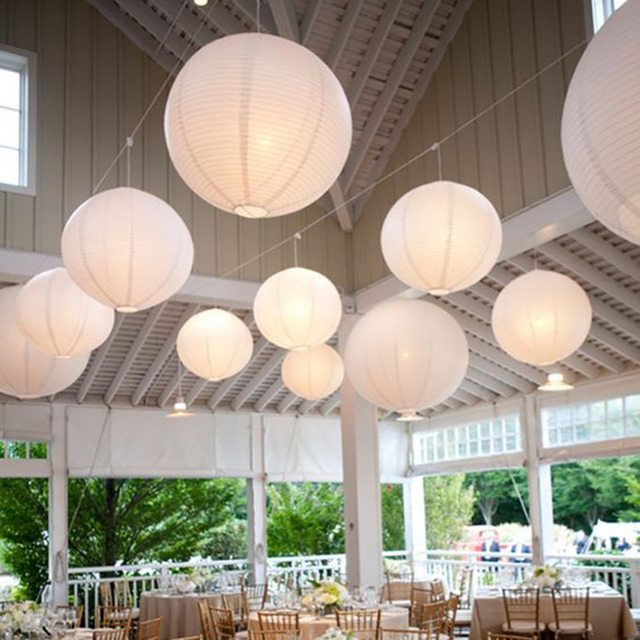 8 20cm round decorative rice paper chinese paper lanterns lamp