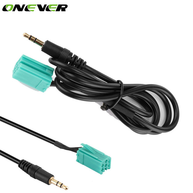 Onever 6 Pin 3,5mm Stecker AUX 1 mt Auto Auto Audio Kabel CD Stereo ...