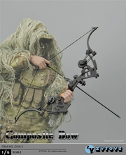 1/6 Scale Composite Bow ZY16-5 Soldier Action Figure Accessories Weapon Model Toys