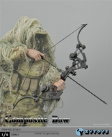 1/6 Scale Composite Bow ZY16 5 Soldier Action Figure Accessories Weapon Model Toys