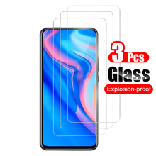 3Pcs For Huawei Y9 Prime (2019) Tempered Glass Screen Protector Guard For