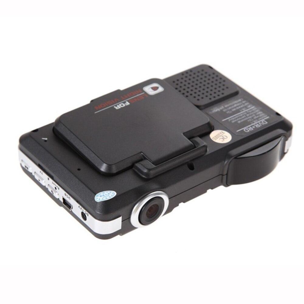 Détecteur de Radar de voiture 3 en 1 de Type Flip traqueur GPS 2.0