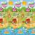 1.0 CM Thicknss Baby Play Mats Doble Lado Mar Mundo + Feliz Granja Infantil Gimnasio Arrastrándose Alfombras Alfombras Niño de Picnic esteras