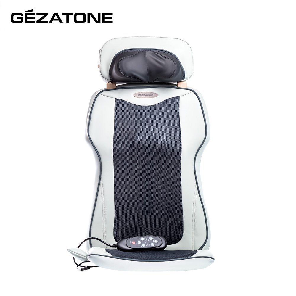 Massage Tools Gezatone 1301119  cape on the car seat back roller vibration massager bust breast roller enhancer massager red white