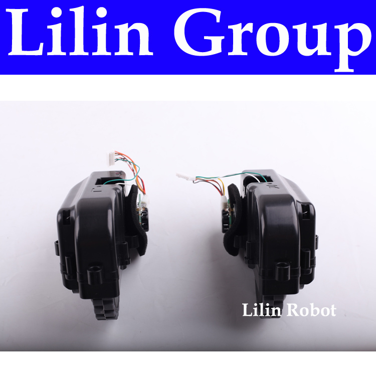 (For B2000,B3000,B2005) Left & Right Wheel for Vacuum Cleaning Robot, Includes 1*Left Wheel Assembly + 1 Right Wheel Assembly