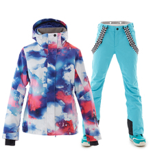 Winter Ski suit Women High Quality Ski Jacket And Pants Snow