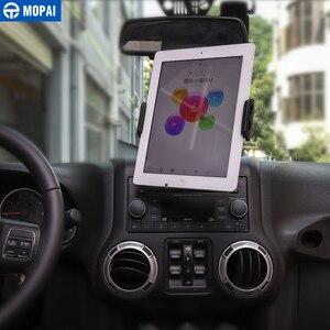 Image 5 - MOPAI ABS di Navigazione Per Auto GPS Staffa di Montaggio IPad/Supporto Del Telefono Mobile per Jeep Wrangler 2011 2017 Accessori Auto styling