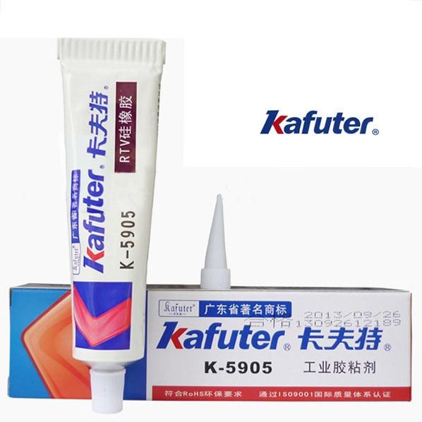 5pcs Kafuter 45g K-5905 lens glue transparent RTV silicone rubber LED lamps waterproof sealant