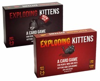 Free Shipping Exploding Kittens Card Game For 2 5 Players Game For Home Party Family Fun