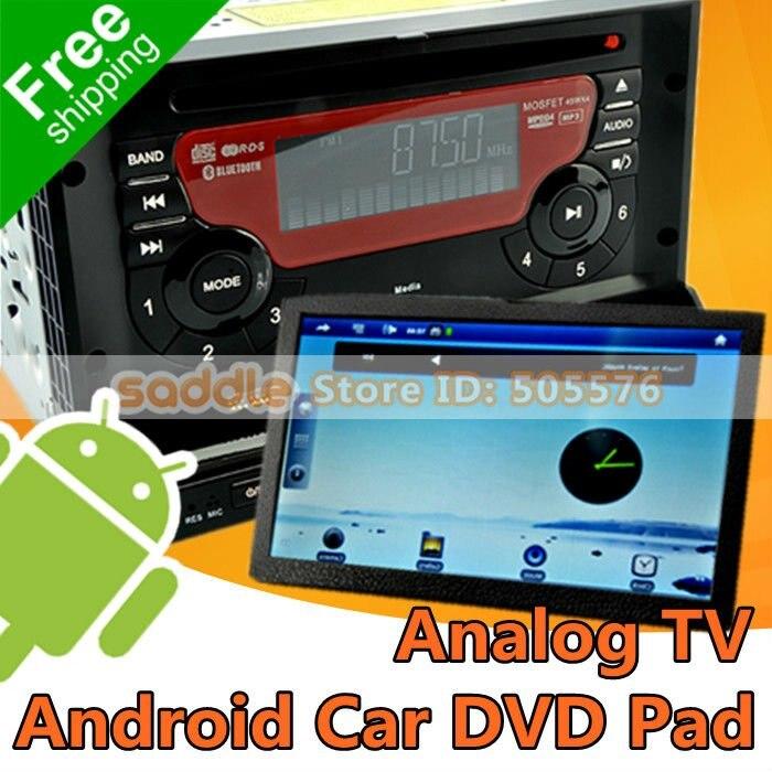 для Android-автомобильный DVD-диск коврик, 2 Дин