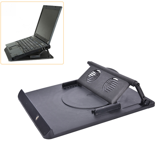 Laptop Holder Cooling 360 Degree Rotation Stand Mount Notebook Table Desk  Swivel 1pc Laptop Table Cooling