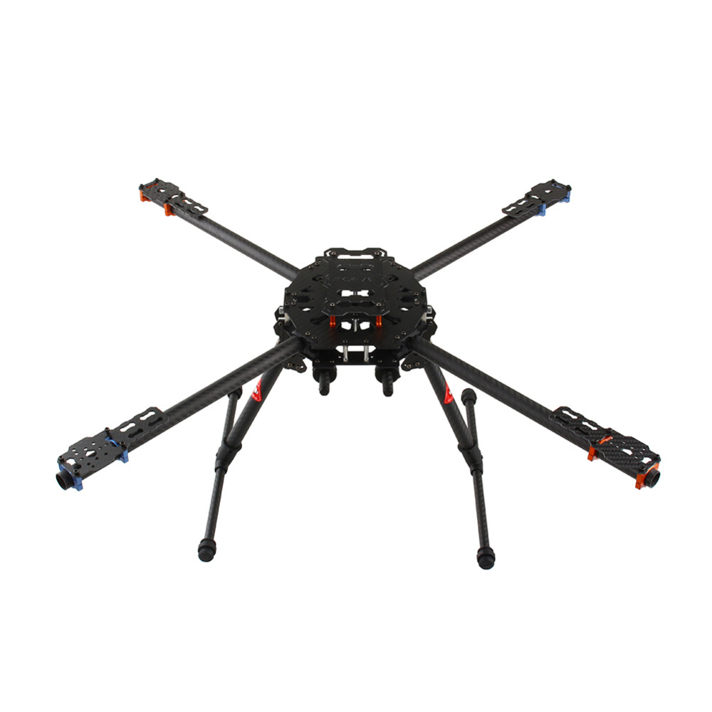 Fashion New 1 set Tarot Iron Man 650 Foldable 3K Carbon Fiber Quad Copter RC Quadcopter Frame TL65B01 Free Shipping ZHD tarot 3k carbon fiber plate 3 5mm tl2900 tarot parts free shipping with tracking