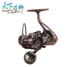 TAF Spinning Fishing Reel 4+1BB 2000-7000 Size 5.2:1/4.9:1 Aluminum Handle Carp  Carretilha De Pesca Wheel