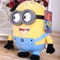 Горячие продажи баловень игрушки 3 шт. мешок гадкий я Творческий миньоны 3D глаза желтый кукла соя кукла плюшевые игрушки бесплатная доставка доставка