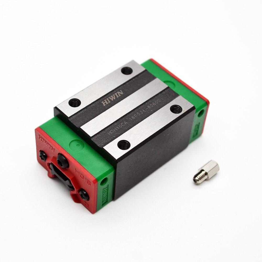 Hgh35ca 100% новый 1 шт. оригинальные HIWIN бренд линейный руководство блок для HIWIN линейный рельс hgr35 ЧПУ Запчасти