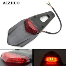 For KTM CR EXC WRF 250 400 426 450 Motorcycle tail light bike rear fender of the LEDs stop WR250F WR450F