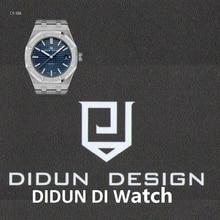 DIDUN Herrenuhren Top-marke Luxus Quarzuhr Business Stoßfest 30 mt Wasserdichte Uhr Männlichen Leucht Armbanduhren