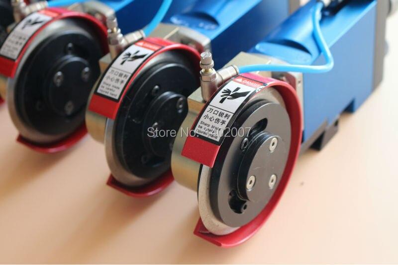 Pneumatic knife holder for slitter machine, air blades holder for slitting blades  цены