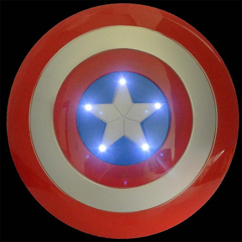 Avengers: Infinity War Armor Captain Captain America's Shield Cosplay Weapons Armor Costumes Children's props