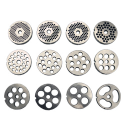 #12 Type Replaceable Meat Grinder Plate Hole 3-18mm Manganese Steel Chopper Disc For Mixer Food Chopper