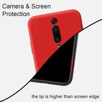 soft tpu KEYSION Liquid Silicone Phone Case For Xiaomi Mi 9T Pro Mi 9 SE Soft TPU Shockproof Back Cover For Redmi K20 Pro Note 7 Pro (5)